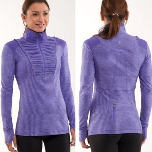 Lululemon Run Your Heart Out Persian Purple size 6